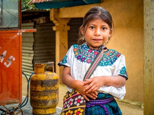 Village Girl (Guatemala)